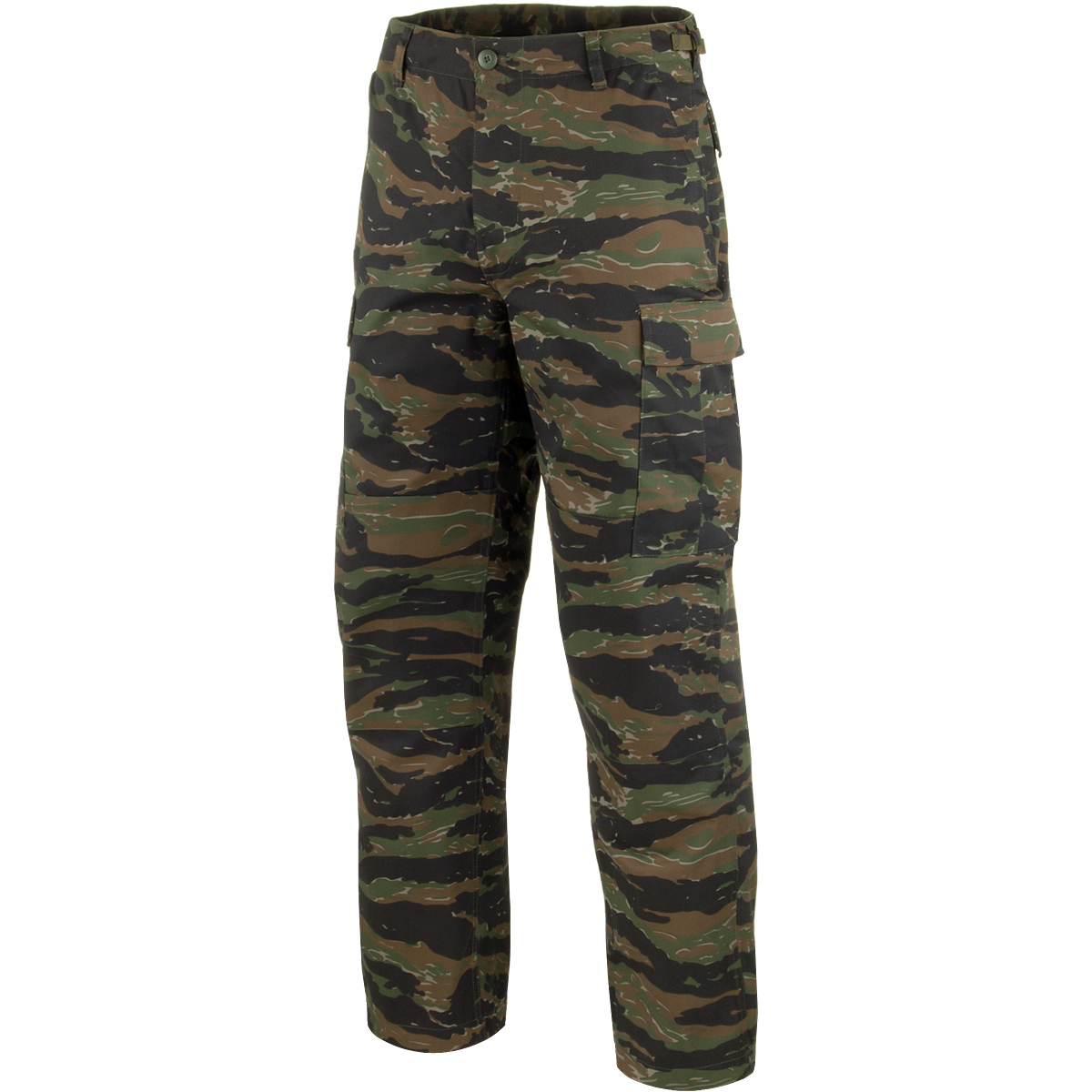 0429ee4a Sentinel Tactical Military Combat Cargo Mens Trousers Pants Work Wear Tiger  Stripe Camo