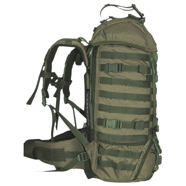 WISPORT RACCOON RUCKSACK COMBAT SECURITY BACKPACK MOLLE CAMPING 45L RAL 7013