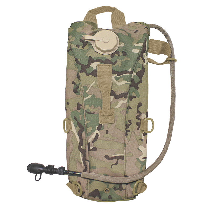 Sentinel Army Hydration Backpack Tpu Extreme Water Bladder Airsoft Hiking  Operation Camo 6e20becc5e00