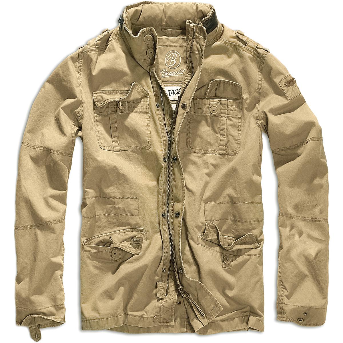 Warme Brandit Britannia Feld Cotton Militärische Travel Cadet Parka Jacke Herren Details Zu vfgbyY76