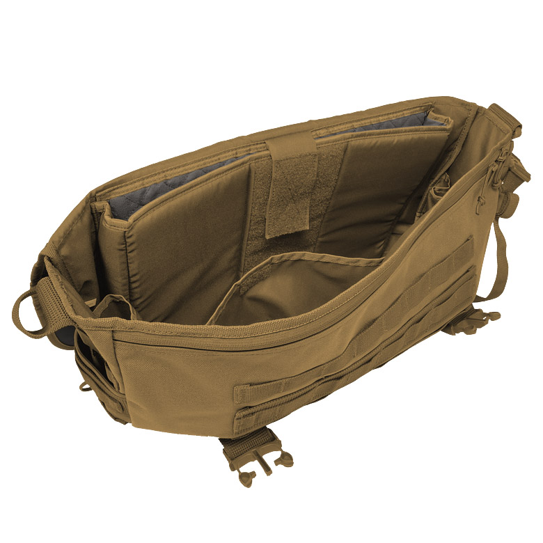 25d94a86bf1c Sentinel HAZARD 4 DEFENSE COURIER BIG LAPTOP MESSENGER MOLLE COMBAT  SHOULDER BAG COYOTE