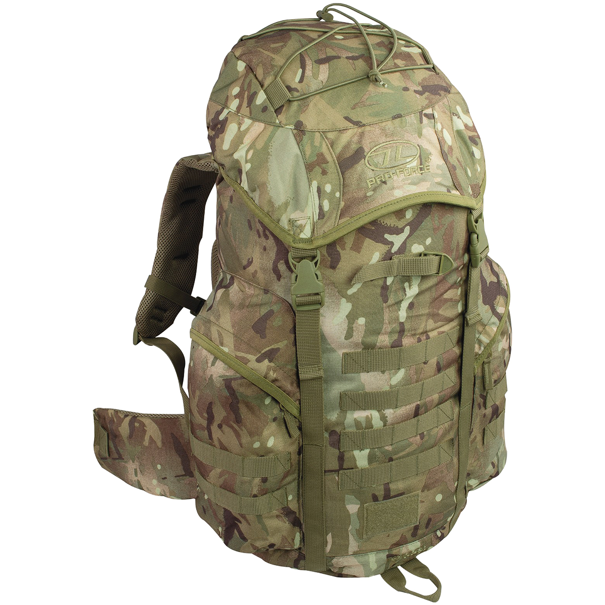 HIGHLANDER PRO-FORCE RECON 40 l Sac à dos HMTC Camo Camouflage Daysack