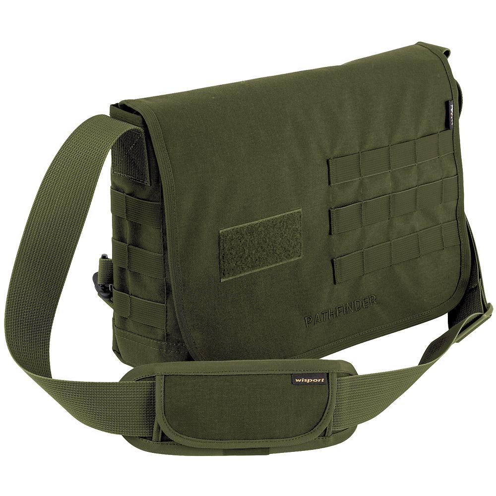 Sentinel Wisport Pathfinder Molle Shoulder Bag Waterproof Laptop Cordura Pack Olive Green