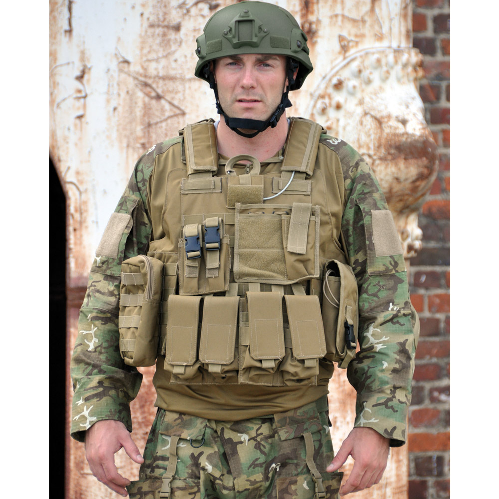 Combat Military M Release Complete Assault Molle Vest