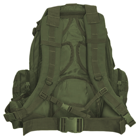 Sentinel Condor 3-Day 50L Assault Pack Tactical Hunting Molle Backpack  Hiking Olive Drab 8e6f31de01