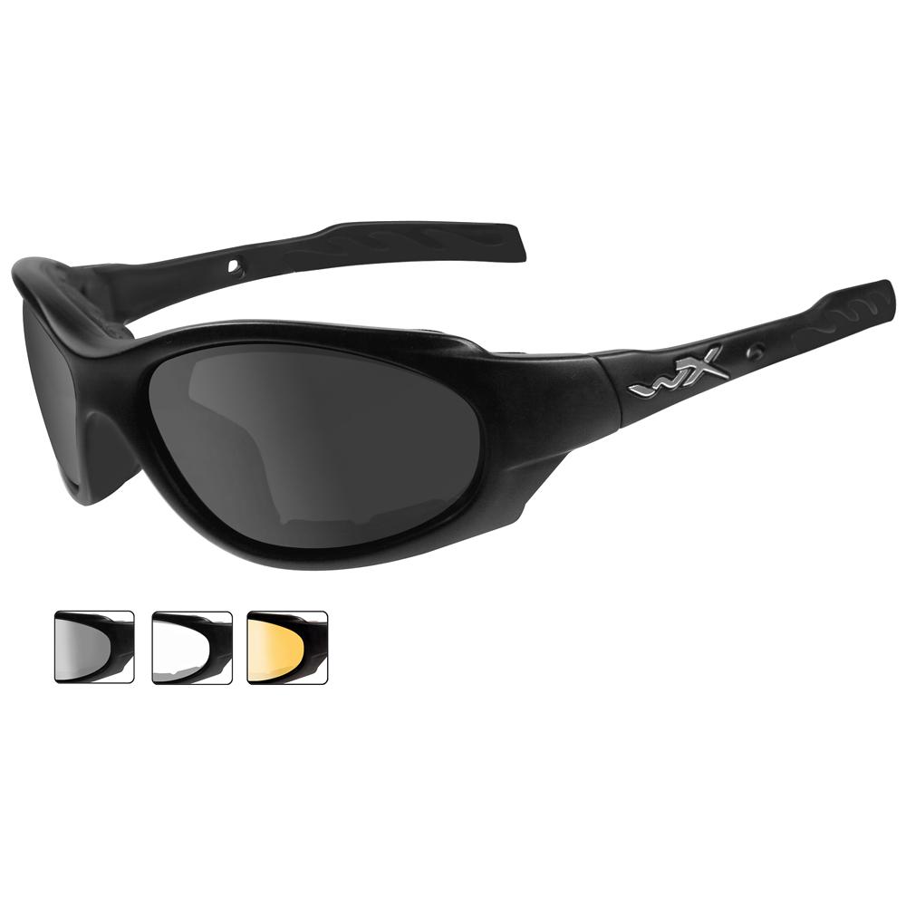 a9d4531cfd5a Details about Wiley X Xl-1 Advanced Glasses 3 Ballistic Antiscratch Lenses  Matte Black Frame