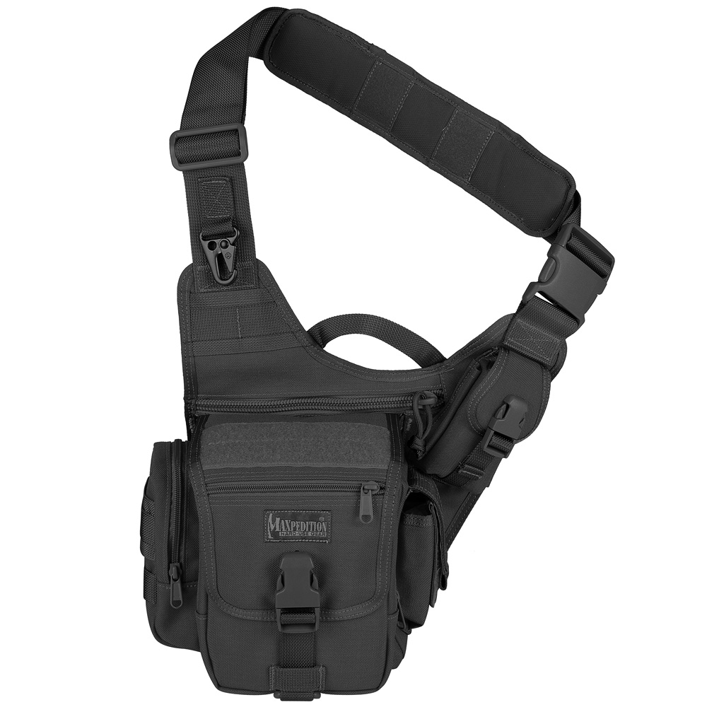 Maxpedition Fatboy Versipack MOLLE Police Sling Bag Security ...