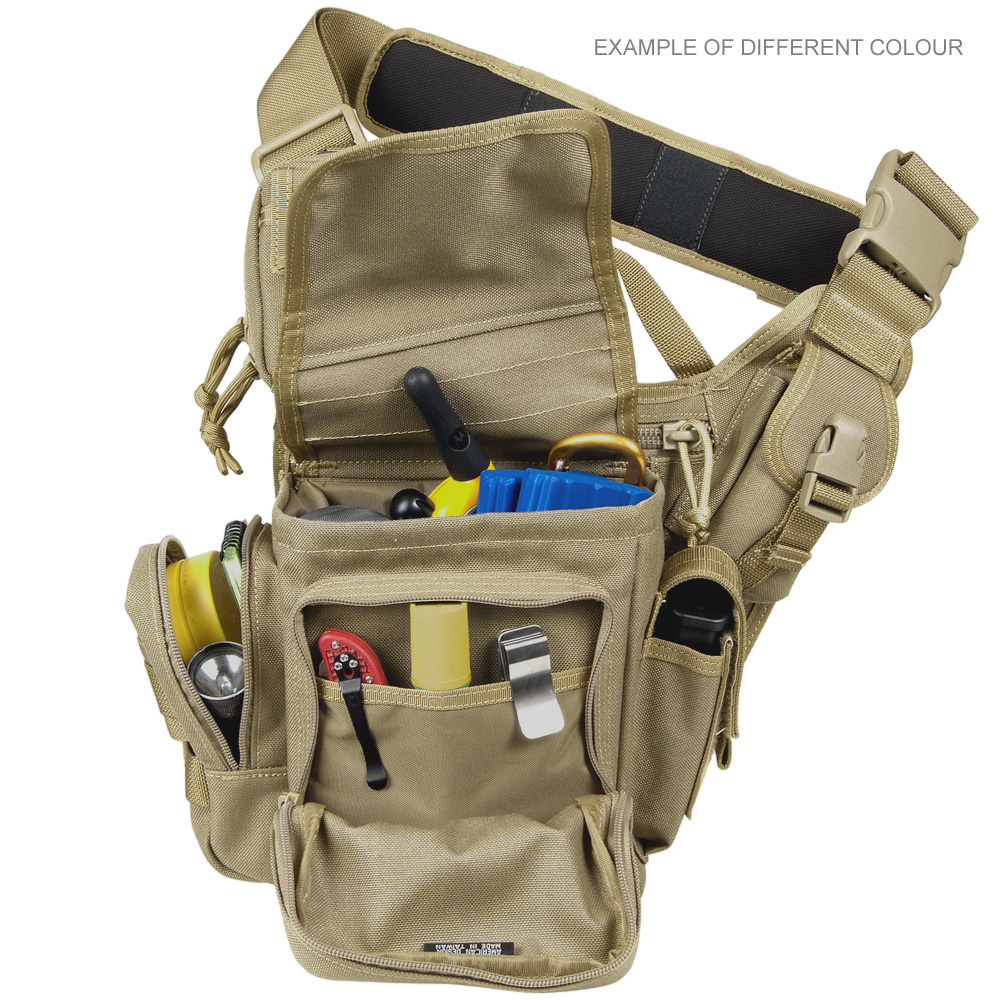 Maxpedition Fatboy Versipack Student Shoulder Bag Military EDC Pack Maroon Khaki 846909008392 | eBay
