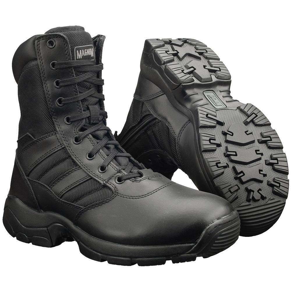 Magnum-Panther-8-0-Side-Zip-Water-Resistant-Boots-Military-Patrol-Footwear-Black