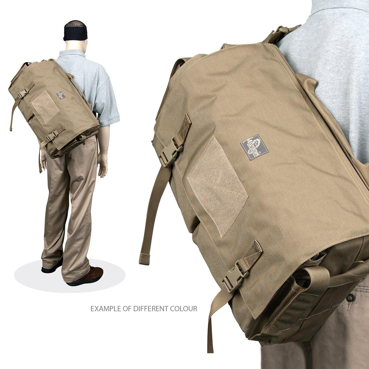 Sentinel Maxpedition Gleneagle Carryall Messenger Bag Tactical Shoulder Daypack Od Green