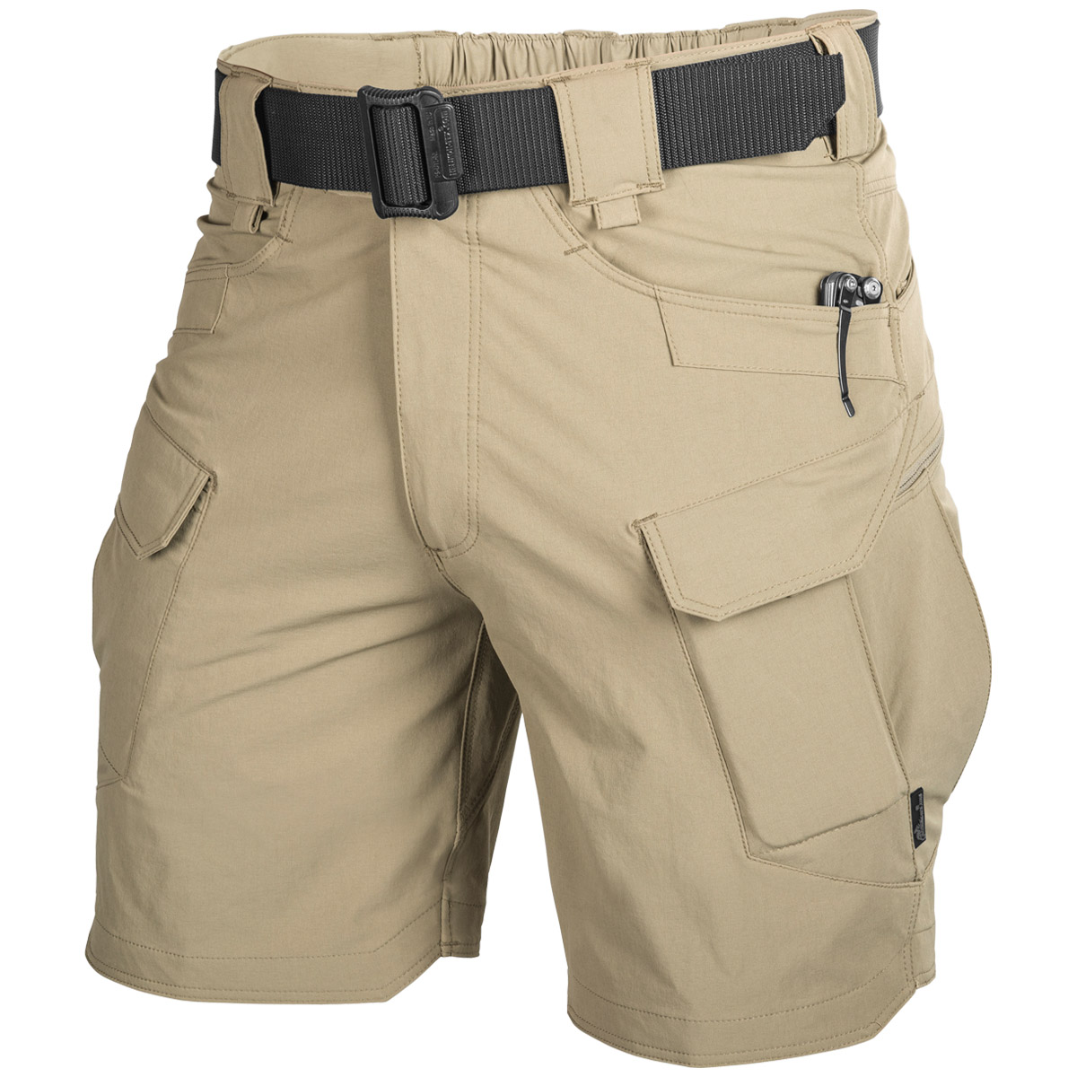 Details about Helikon Outdoor Tactical Mens Cargo Shorts Security Patrol  Military Combat Khaki cb93004e57e