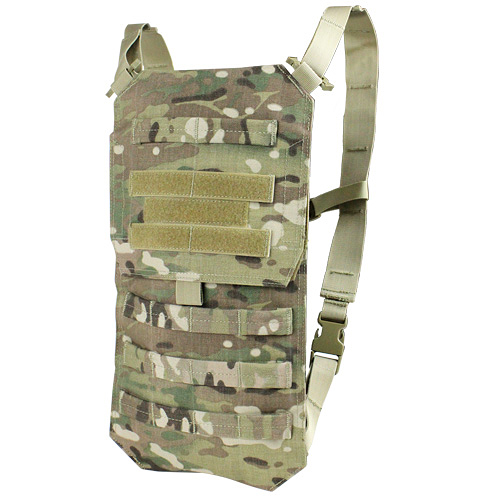 Sentinel Condor Oasis Tactical Hydration Bladder Carrier Molle Water Holder  Multicam Camo b5f31842d