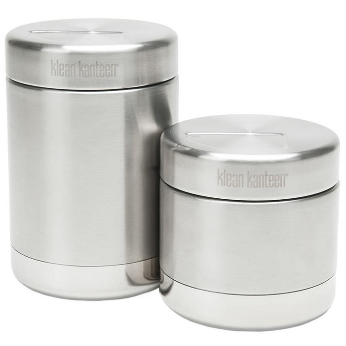 KLEAN KANTEEN 473ml FOOD CANISTER STAINLESS POT LEAKPROOF WORK CONTAINER BRUSHED
