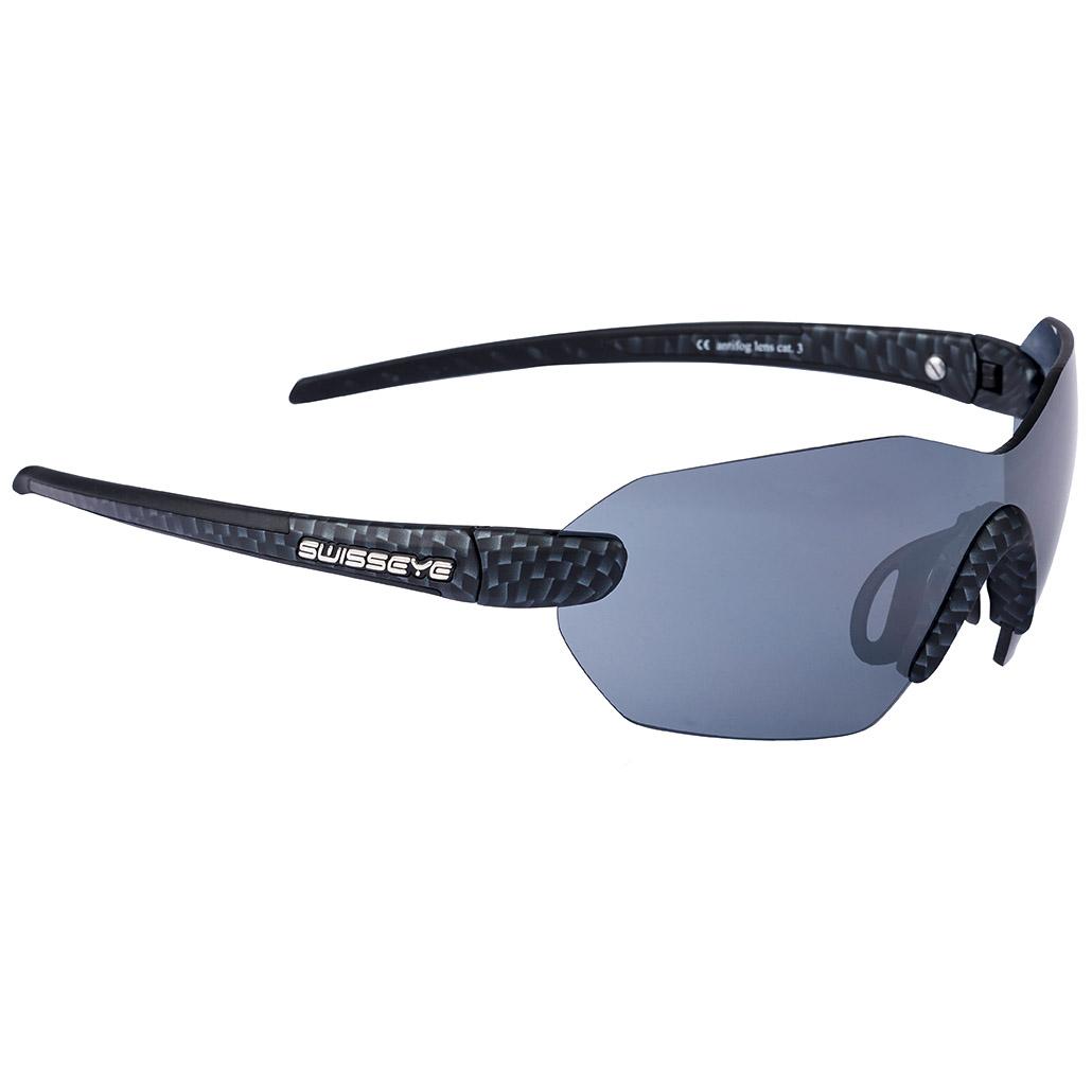 Ojo suizos Panorama Sport gafas marco carbono/negro lente humo FM + ...