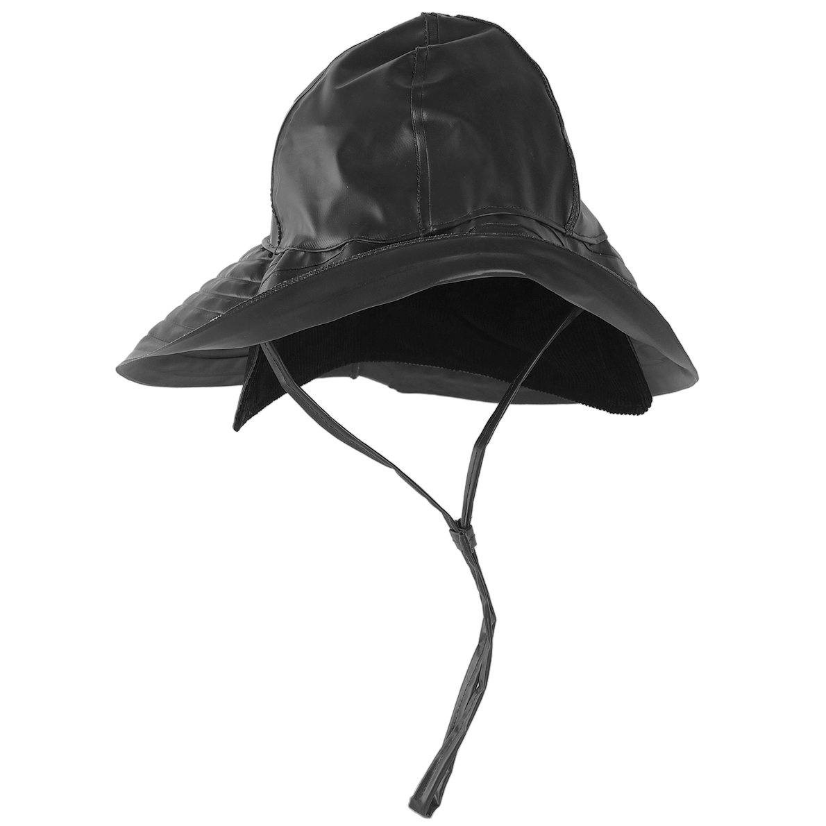a95558dadfd Sentinel Thumbnail 1. Sentinel Mil-Tec Southwestern Rain Hat Waterproof  Neck Protection Outdoor Storm Cap Black