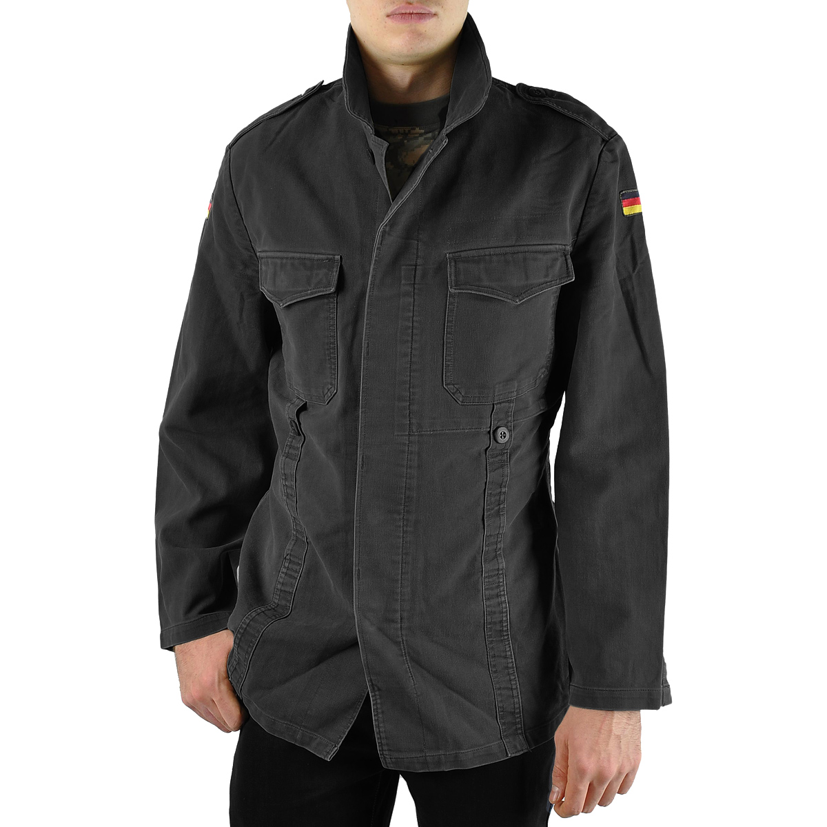 German army parka blue