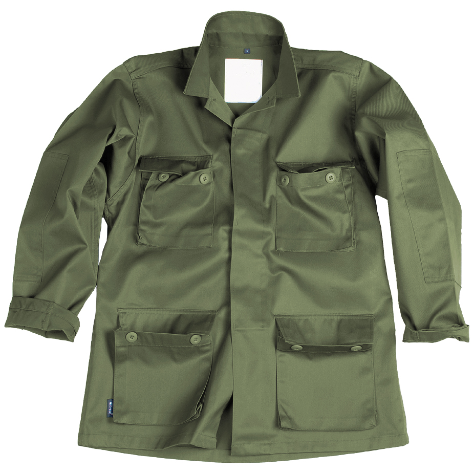 Mil-Tec-Bdu-Tactico-Militar-De-Combate-Camisa-Uniforme-Hombres-Chaqueta-Airsoft