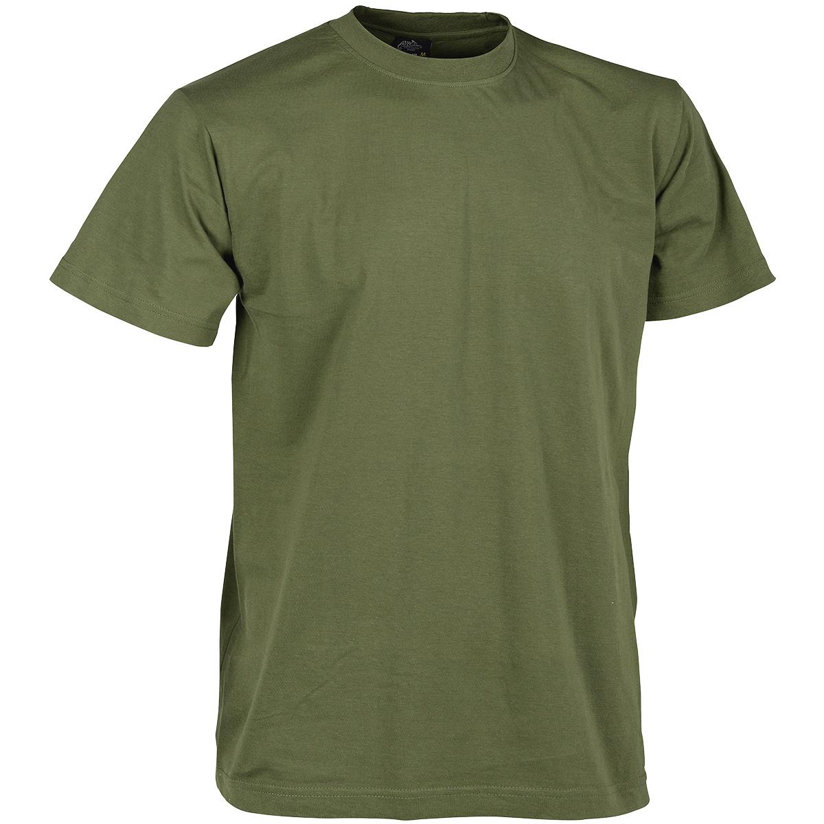 Helikon army patrol mens t shirt military work wear top for Green mens t shirt