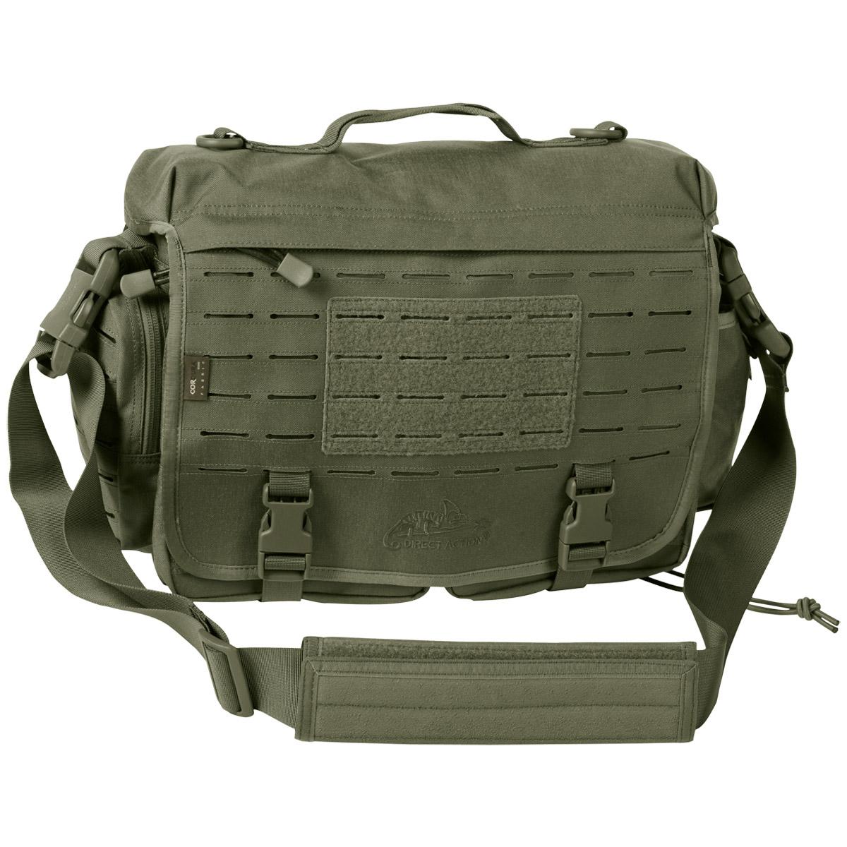 Sentinel Direct Action Military Messenger Bag Tactical Shoulder Pack Molle Olive Green Od