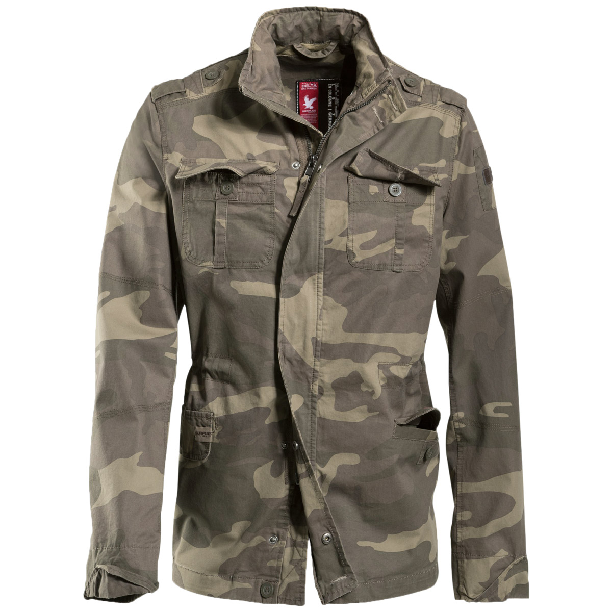 A wide range of camouflage jackets, military jackets, field parkas and army coats, in a variety of styles, colors and camo patterns is available only at Military 1st online store. Free shipping across the U.S.