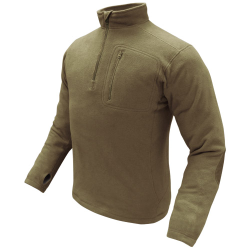 Condor Army Patrol 1/4 Zip Mens Fleece Pullover Military Polar ...