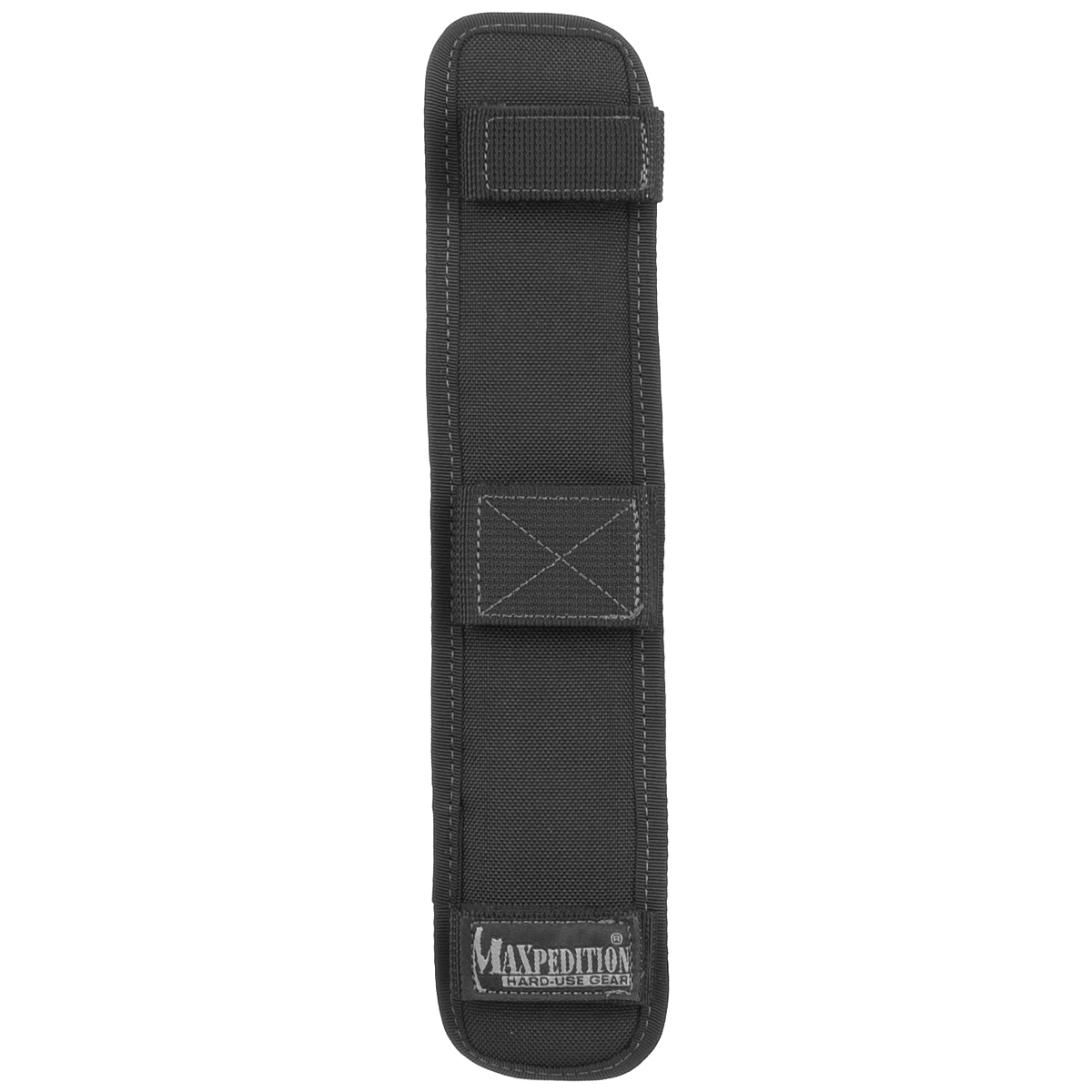 "Maxpedition 1.5/"" Padded Shoulder Pad Non-Slip Bag Strap Wrap Police Black"