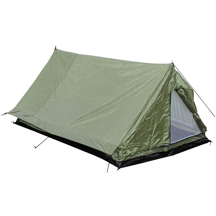 mfh 2 person minipack tent camping festival holiday travel army