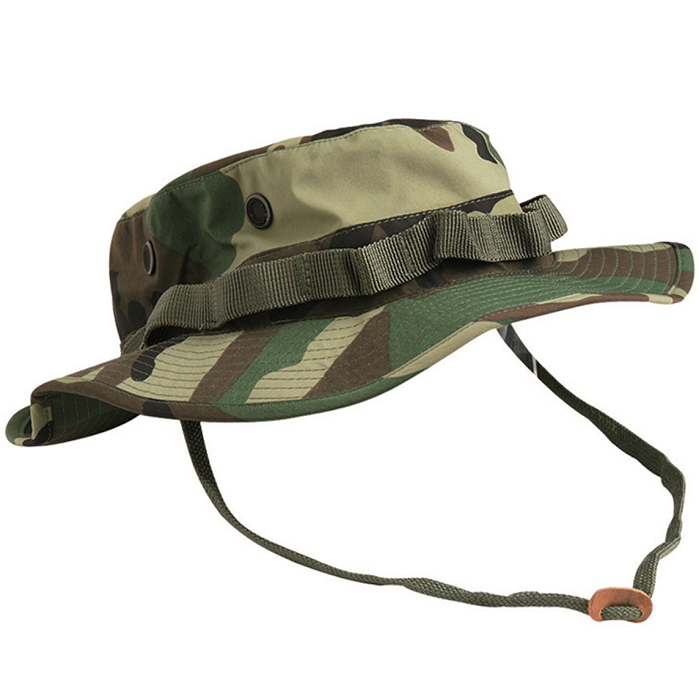 Details about TEESAR US GI TRILAMINATE JUNGLE BOONIE HAT HUNTING FISHING  GIGGLE CAP WOODLAND 3406b4ccd59