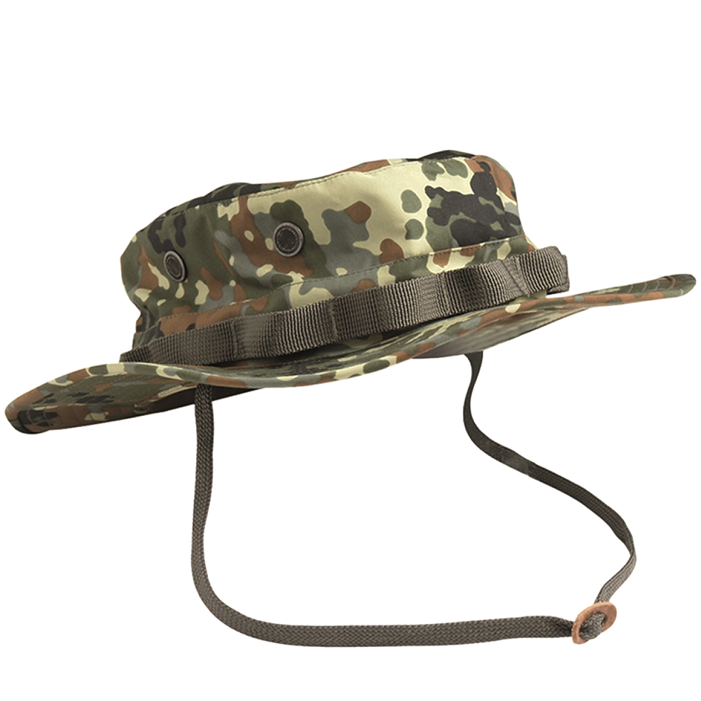 TEESAR US Trilaminate Waterproof Boonie Army Patrol Hat Flecktarn ... f43835265c6