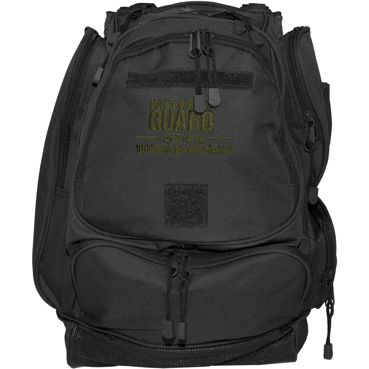 MFH US National Guard Backpack Patrol Laptop Wandering Travel Military OD Green