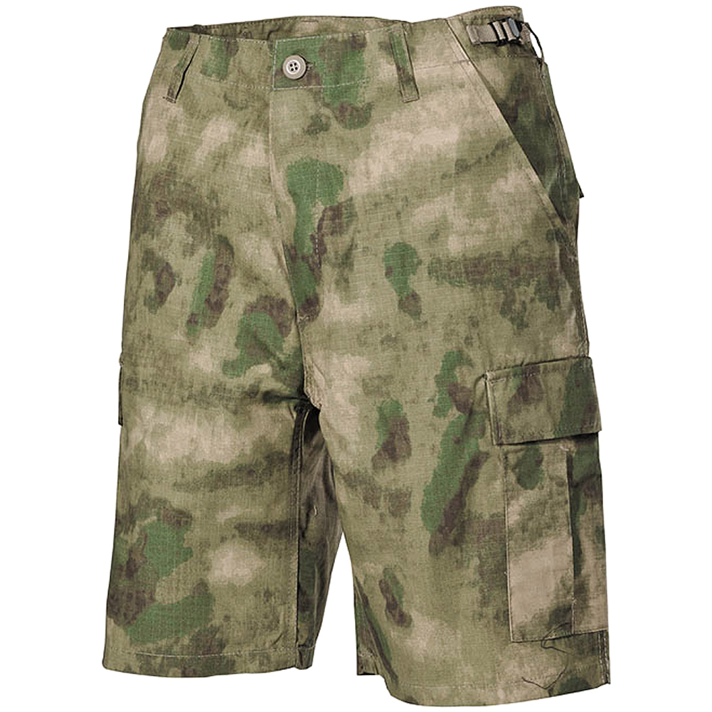 MFH US BDU Bermuda Shorts HDT Camo FG | A-TACS FG ...