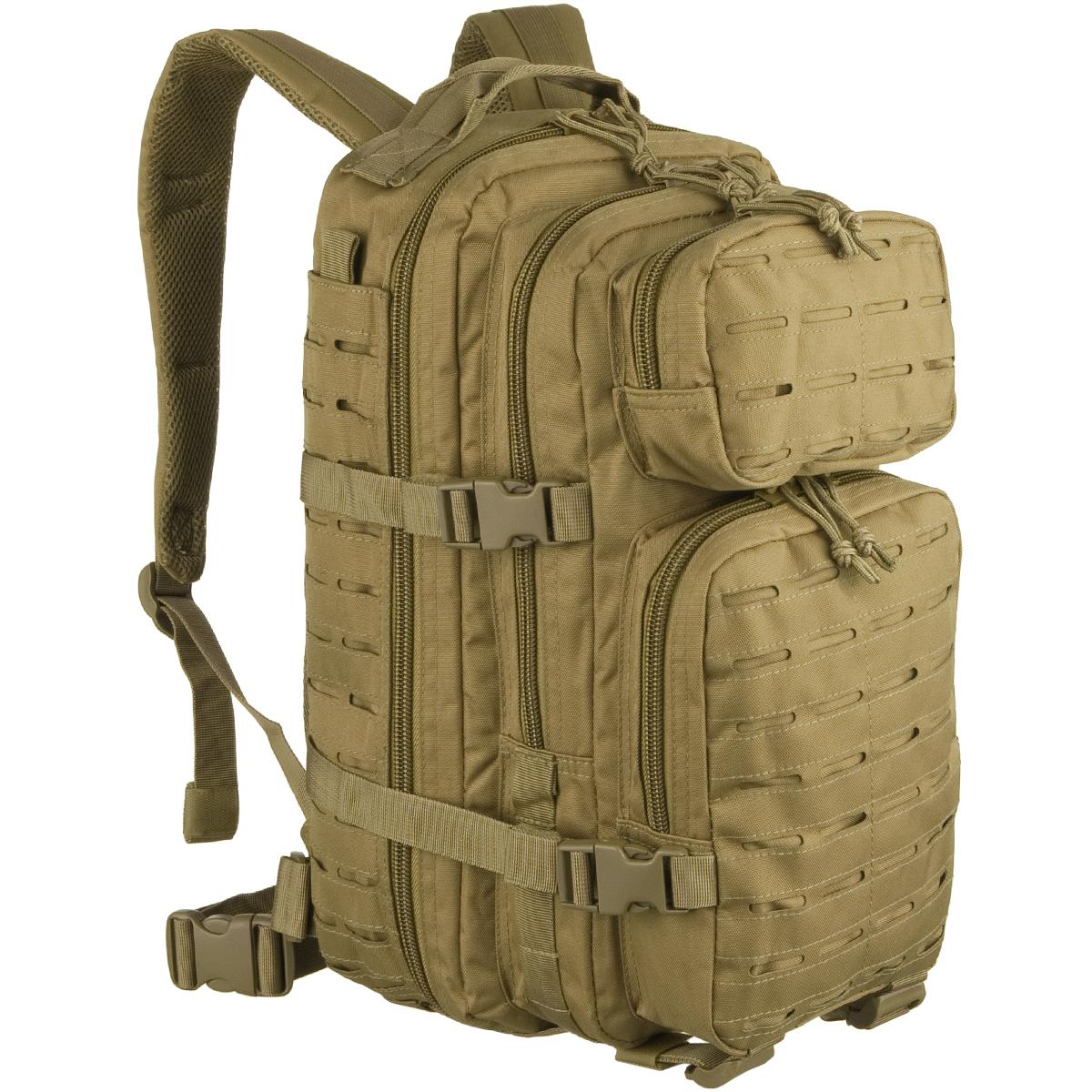 640846e1cd15f Plecak Mil-Tec US Assault Laser Mały Coyote Plecak Mil-Tec US Assault Laser Mały  Coyote