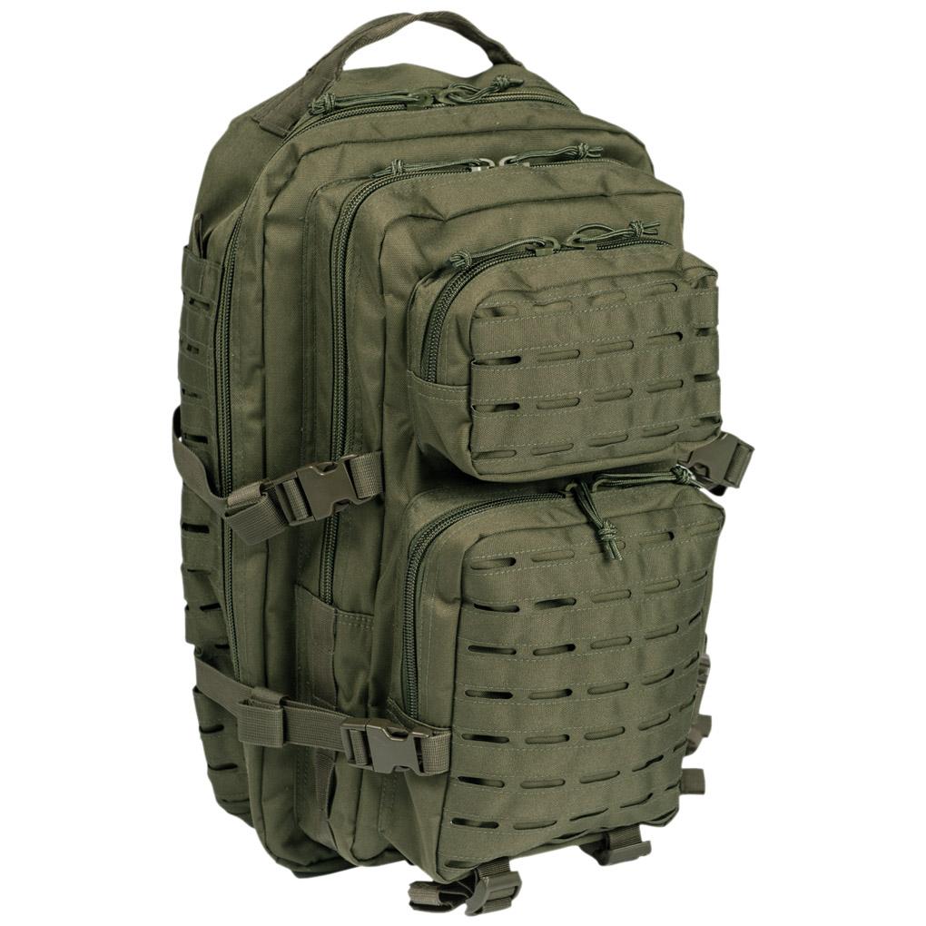 7b618e7a5a6a0 Plecak Mil-Tec US Assault Laser Duży Oliwkowy Plecak Mil-Tec US Assault  Laser Duży Oliwkowy