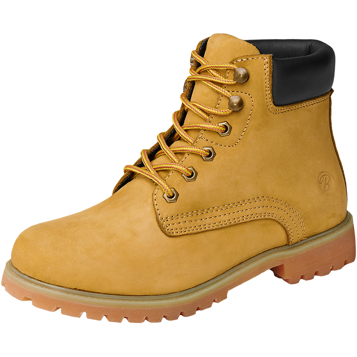 low priced dc22a f62fc Details about Brandit Kenyon Padded Leather Military Boots Army Patrol Mens  Footwear Camel