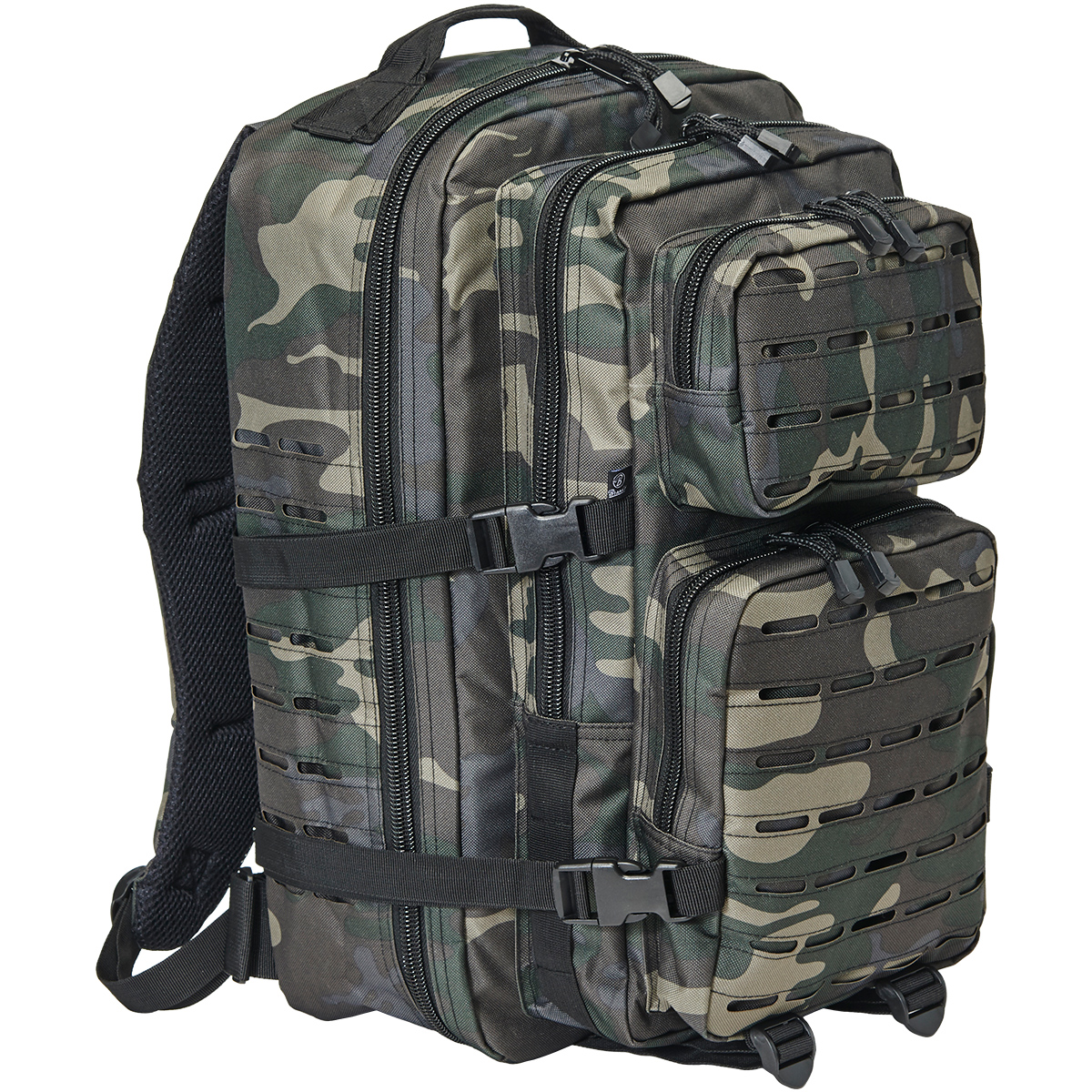 Brandit Us Cooper Patch Backpack Tactical Marine Navy Cadet Webbing Rucksack