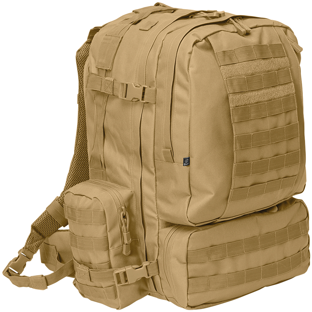 Sentinel Brandit Us Cooper 3-Day Assault Backpack Military Hydration Molle  Pack Camel d64eef820a7