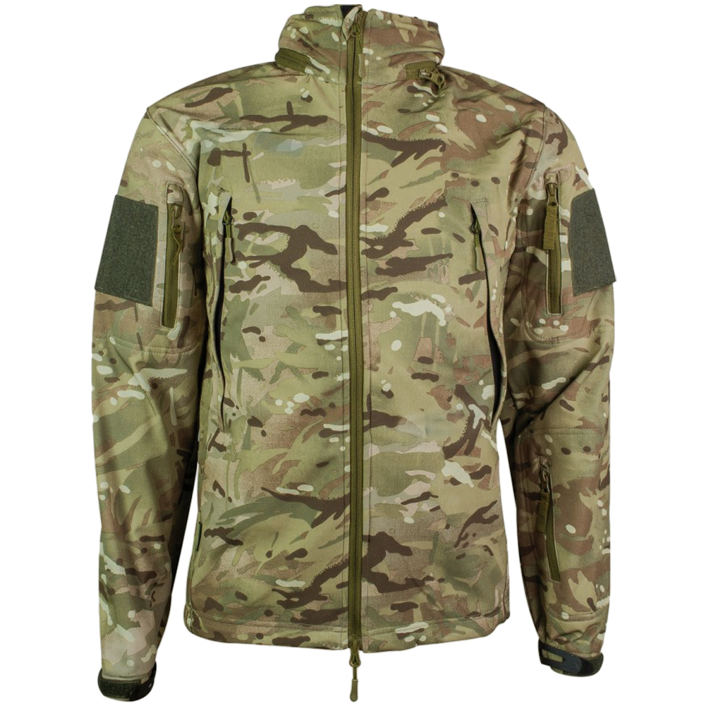 highlander tactical softshell jacke l