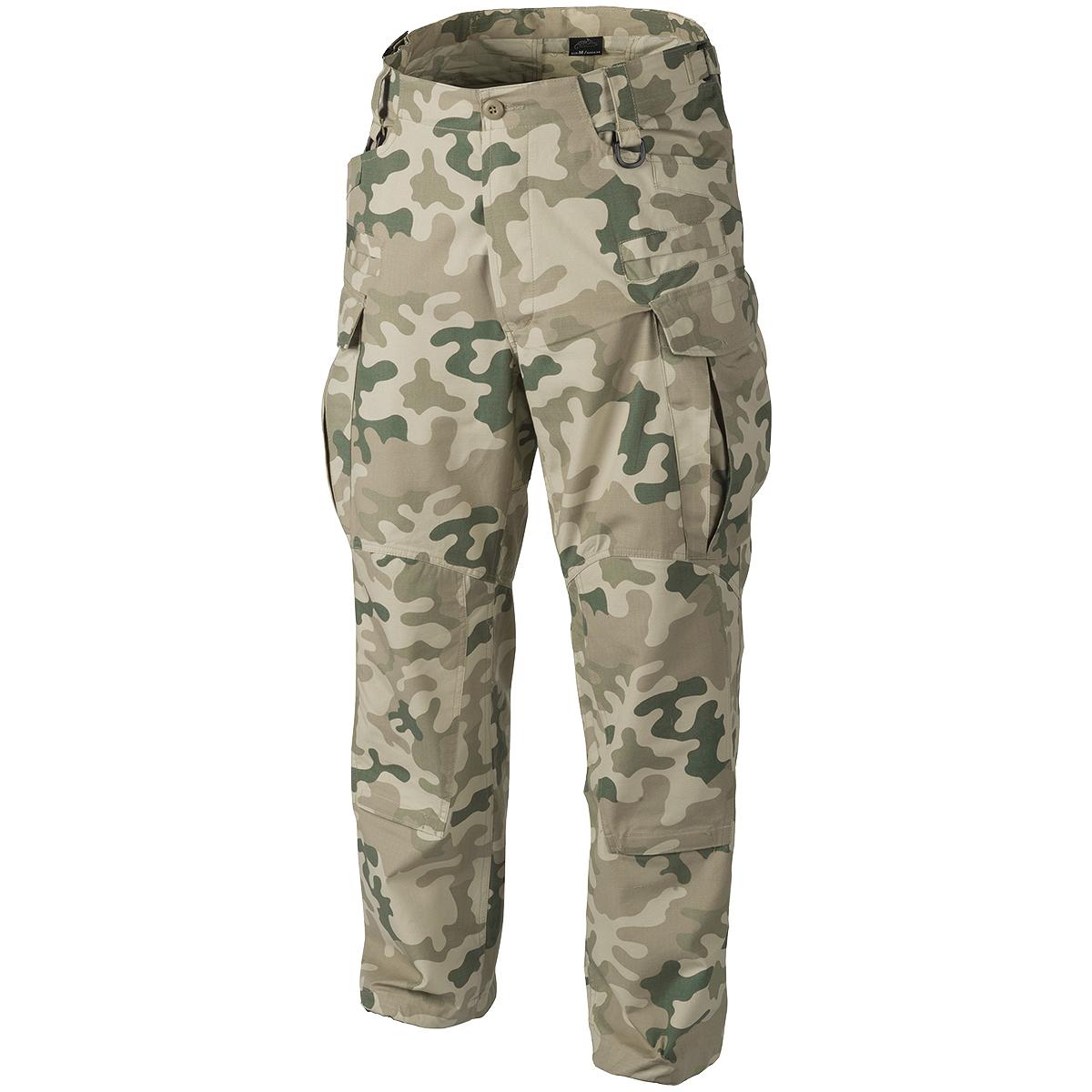 Helikon-SFU-Next-Army-Combat-Trousers-Mens-Hunting-Ripstop-Pants-PL-Desert-Camo