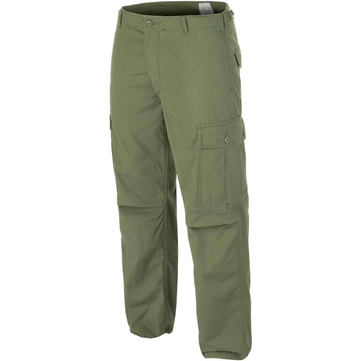 Vietnam Au Militaire M64 Pantalo Us Pantalon Fatigue Jungle Teesar Combat Hommes w0q8HTP