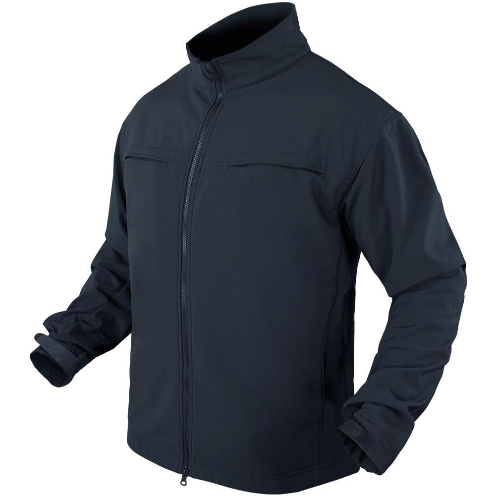 fe2b2a0dfa8 Sentinel Condor Tactical Mens Covert Soft Shell Side Access Marines Ccw  Jacket Navy Blue