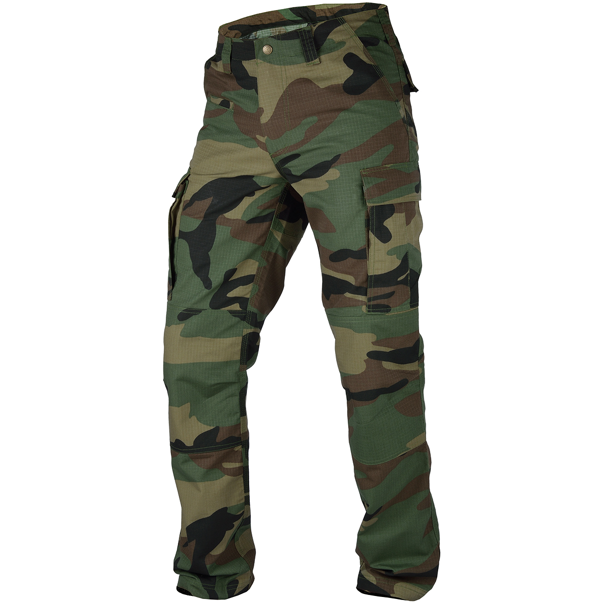 2af43e8d60681 Details about PENTAGON BDU 2.0 PANTS TACTICAL ARMY HUNTING RIPSTOP MENS  TROUSERS WOODLAND CAMO