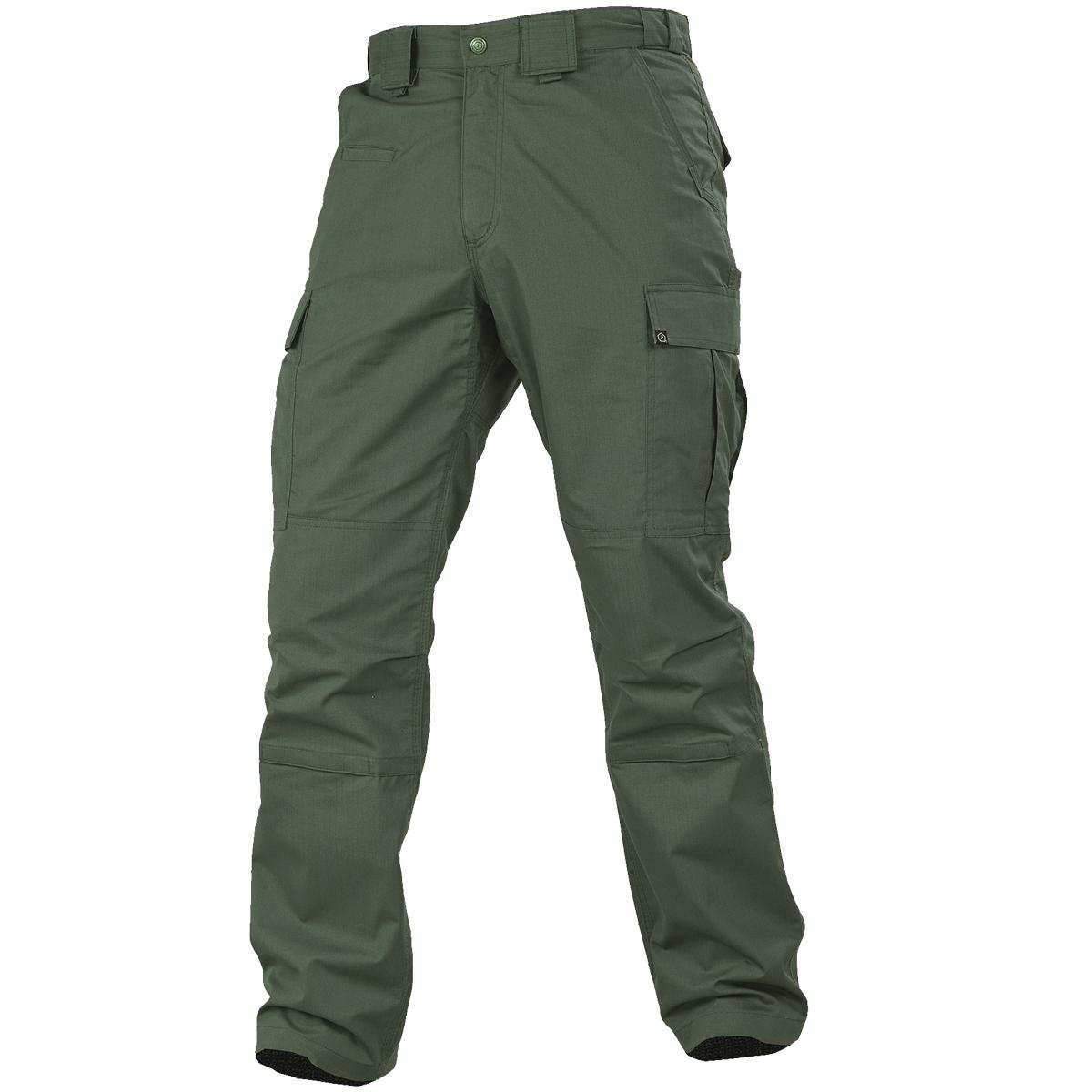 Pentagon T-BDU Pants Durable Mens Combat Hunting Trousers Work Army Camo Green