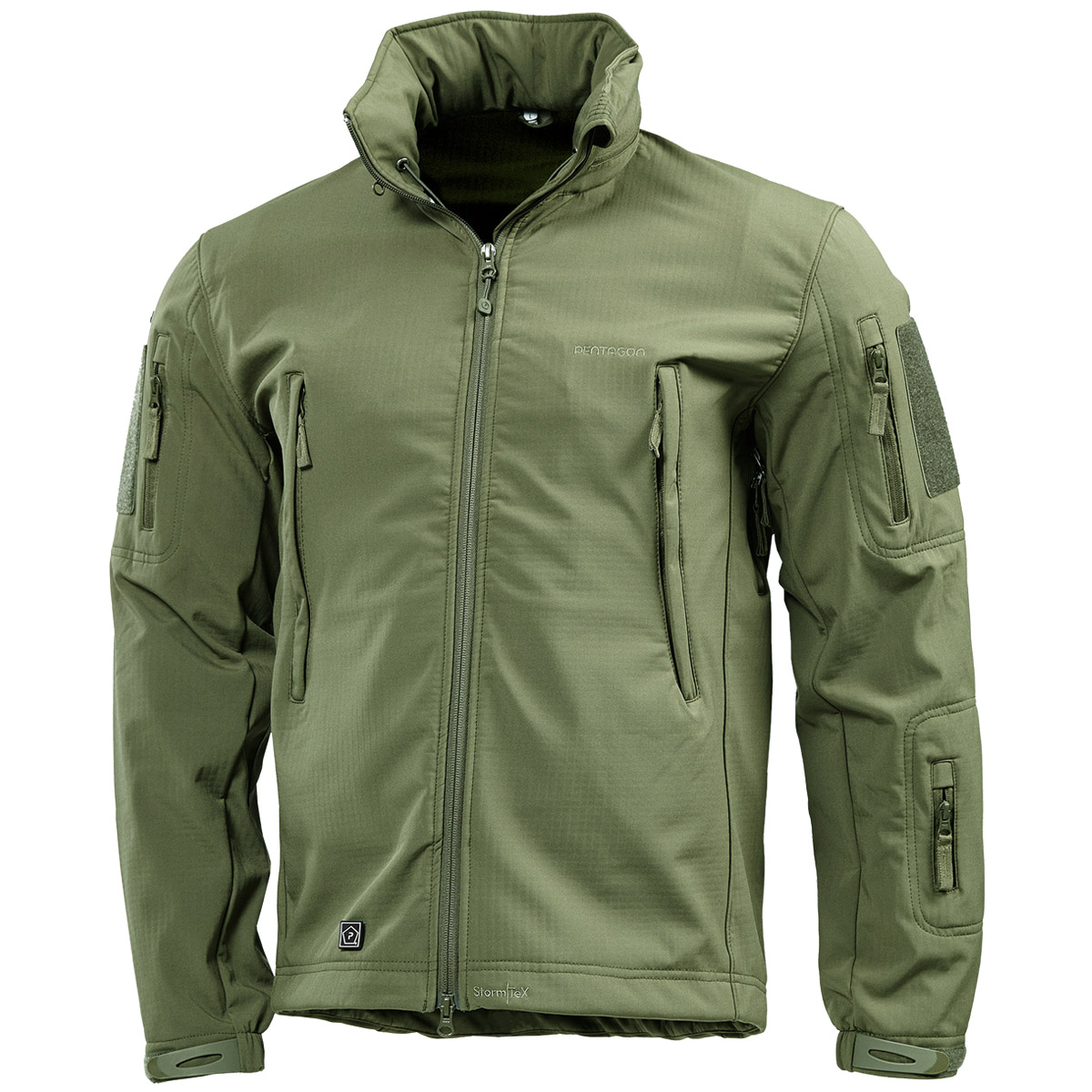 ca0363099e2d Details about Pentagon Artaxes Soft Shell Military Tactical Mens Jacket  Hunting Olive Green OD