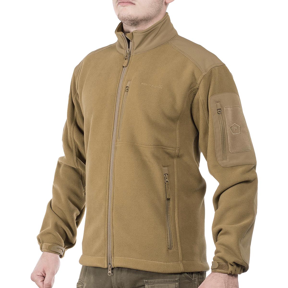 Sentinel Pentagon Perseus Fleece Jacket 2.0 Warm Mens Military Patrol Duty Coat  Coyote b2d6379f456