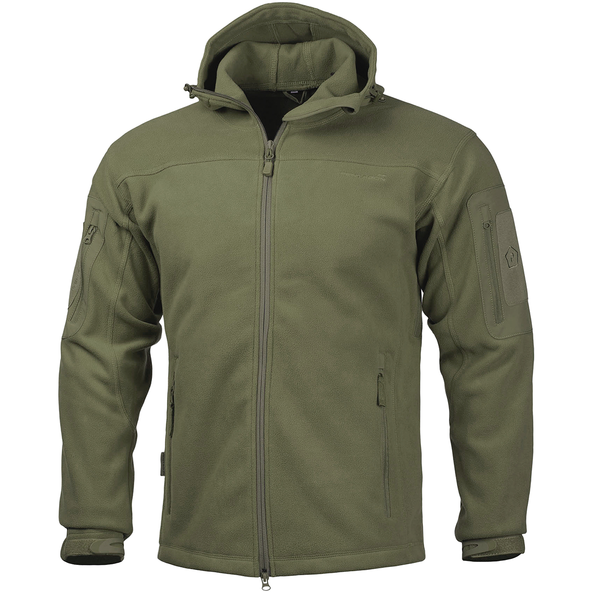 Sport your fleece jacket over a thermal baselayer or under a heavier jacket as a part of a three-layer system. Your fleece jacket is designated as light, mid-layer or heavy. Always consult product information for specifics on the level of warmth your garment provides.