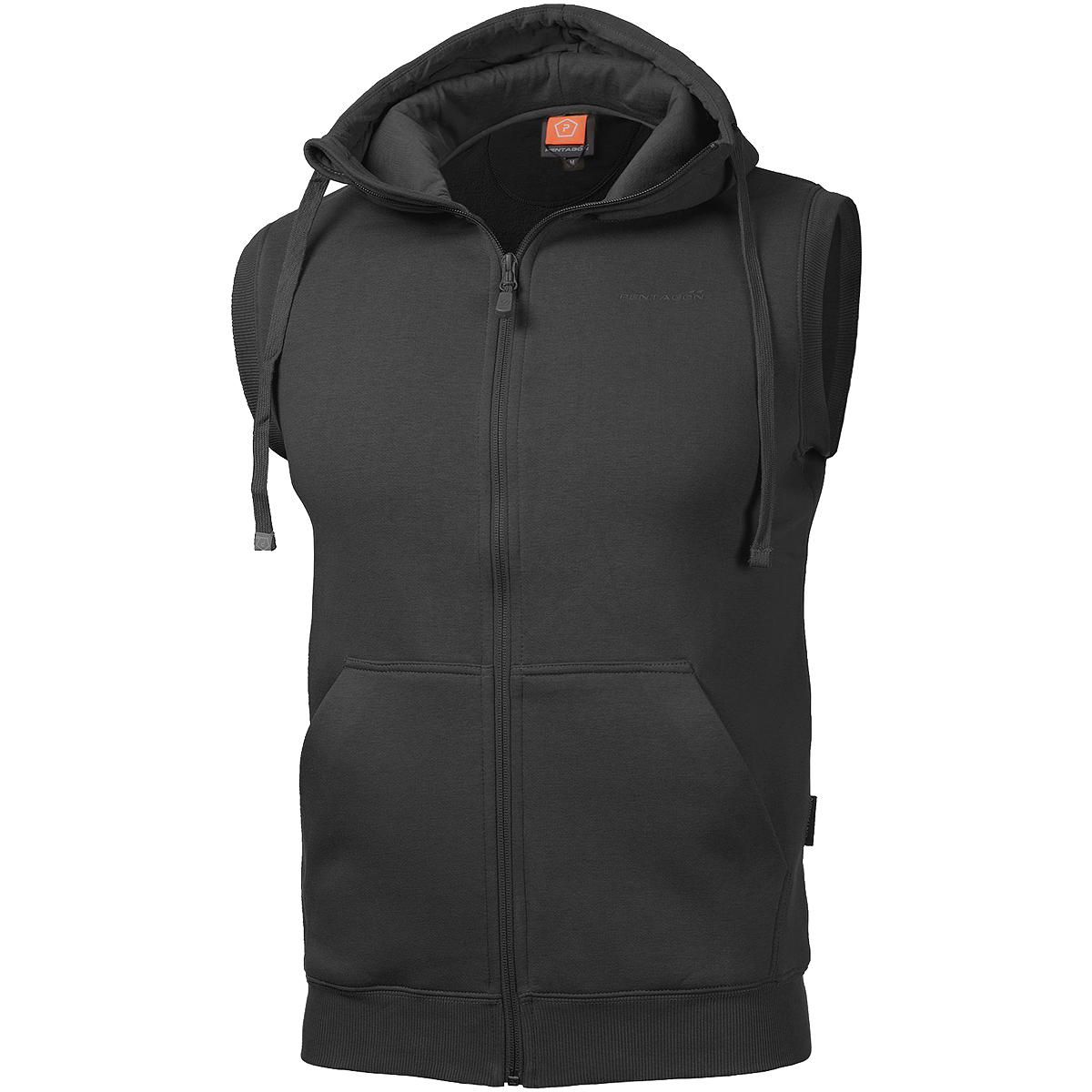 Pentagon Thespis Mens Tactical Sleeveless Armless Hoodie Vest Body Warmer Gillet