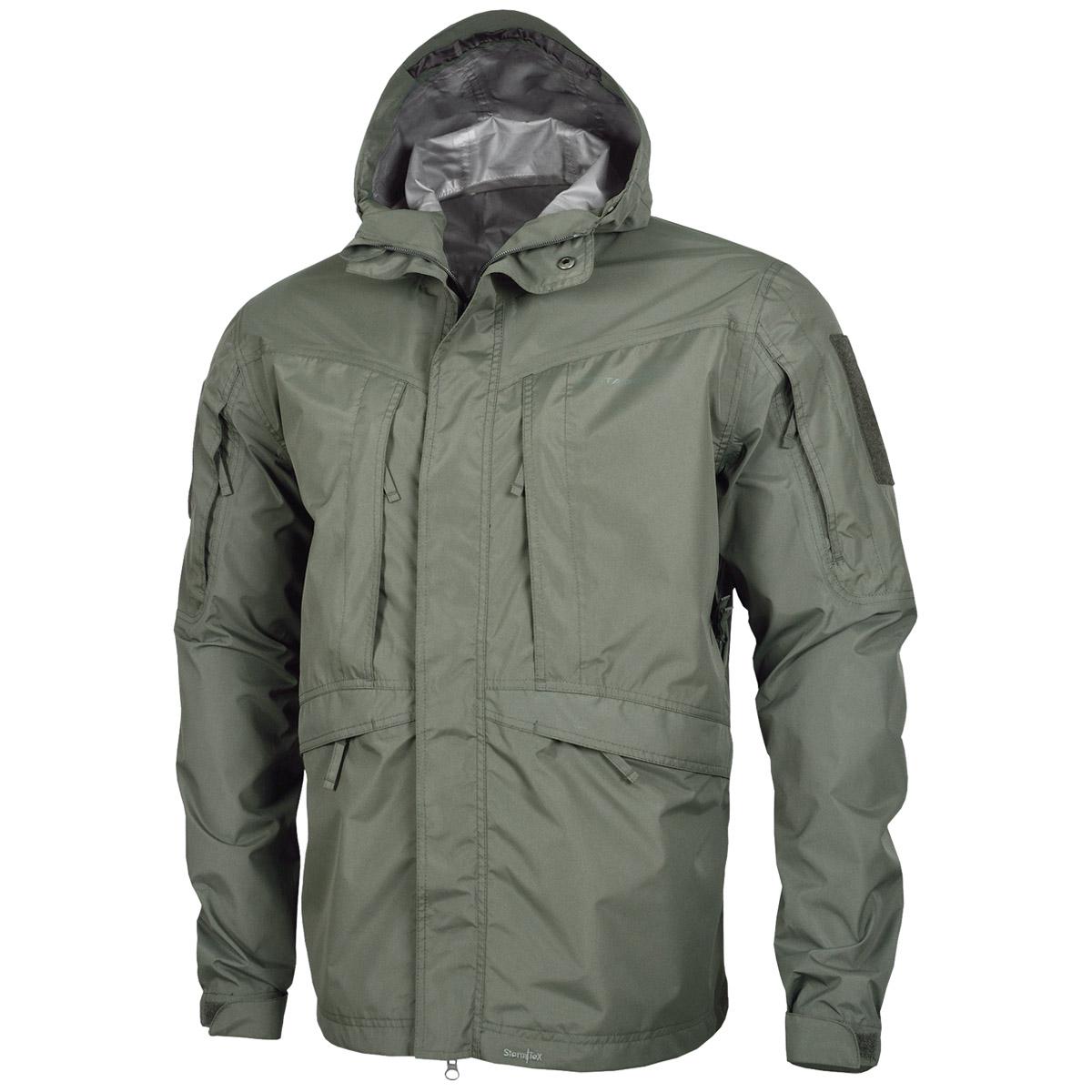 Pentagon Monsoon Tactical Soft Shell Mens Waterproof Jacket Hiking Grindle Green   EBay