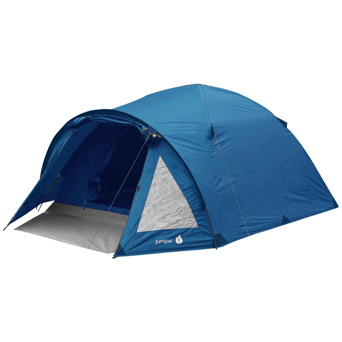 Highlander Juniper 2 Personne Dôme Tente Camping Randonnée week-end Festivals Bleu Profond