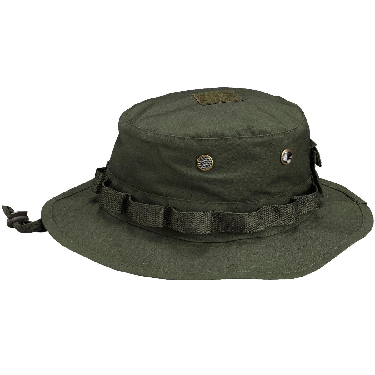 Pentagon Jungle Hat Ripstop Patrol Military Combat Forces Headgear Olive Green