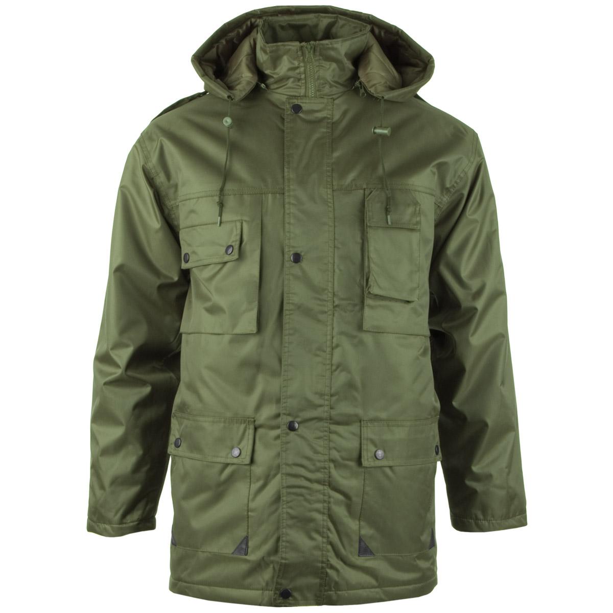 mil tec parka dubon mens winter quilted military jacket. Black Bedroom Furniture Sets. Home Design Ideas